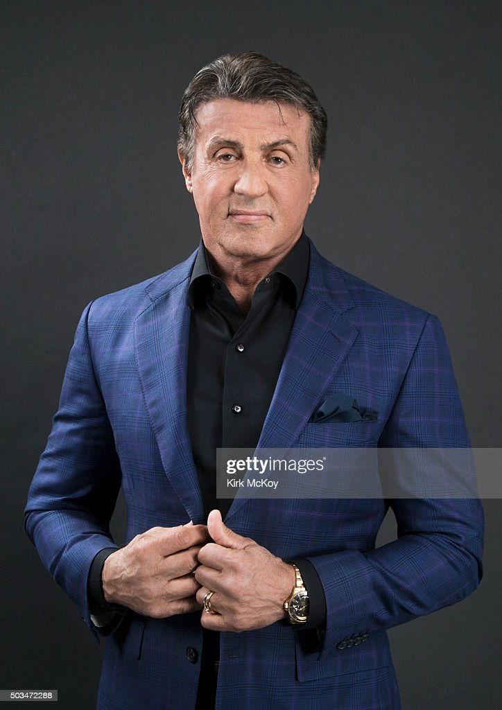 Actor Sylvester Stallone is photographed for Los Angeles Times on November 14, 2015 in Los Angeles, California. PUBLISHED IMAGE.