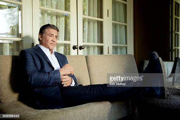 Actor Sylvester Stallone is photographed for Los Angeles Times on December 15 2015 in Los Angeles California PUBLISHED IMAGE CREDIT MUST READ Kirk...