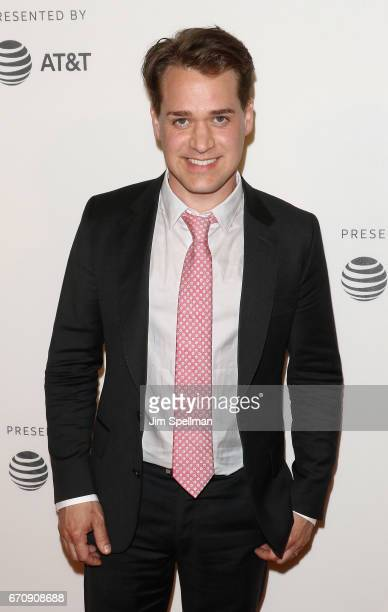 Actor T R Knight attends the 2017 Tribeca Film Festival Genius screening at BMCC Tribeca PAC on April 20 2017 in New York City