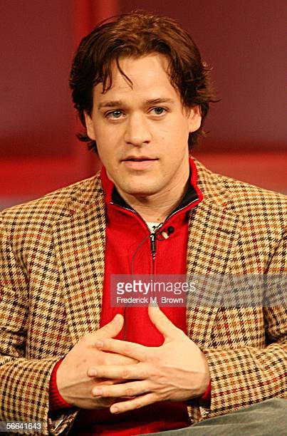 Actor T R Knight of 'Grey's Anatomy' speaks during the ABC executive question and answer segment of the Television Critics Association Press Tour at...