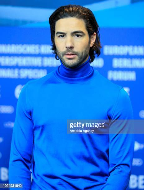 "Actor Tahar Rahim attends a press conference of ""The Kindness Of Strangers movie within the 69th Berlinale International Film Festival on February 7,..."