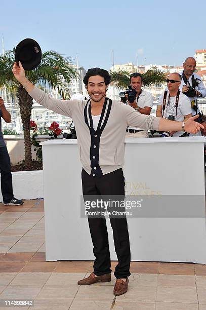 """Actor Tahar Rahim attends the """"Les Hommes Libres"""" Photocall during the 64th Cannes Film Festival at the Palais des Festivals on May 19, 2011 in..."""