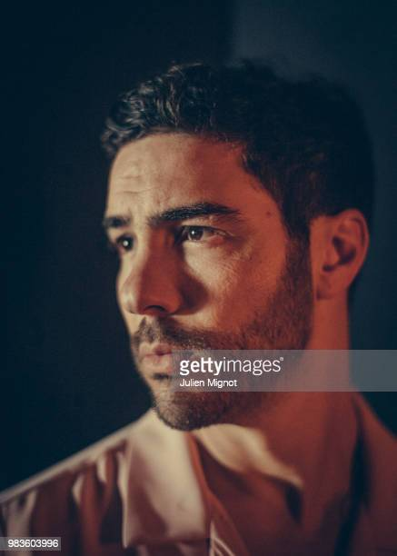 Actor Tahar Rahim is photographed for Grazia Daily on May 2018 in Cannes France