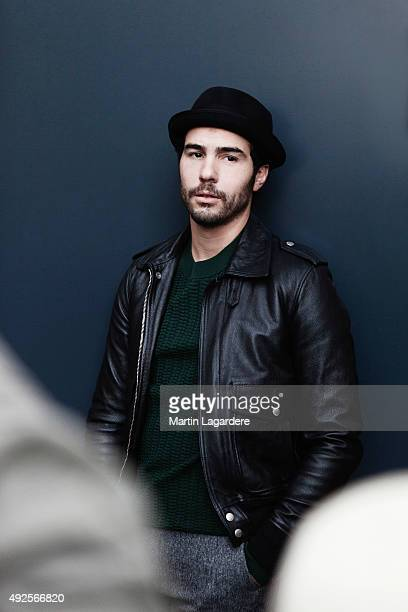 Actor Tahar Rahim is photographed for Self Assignment on October 5 2015 in Saint Jean de Luz France