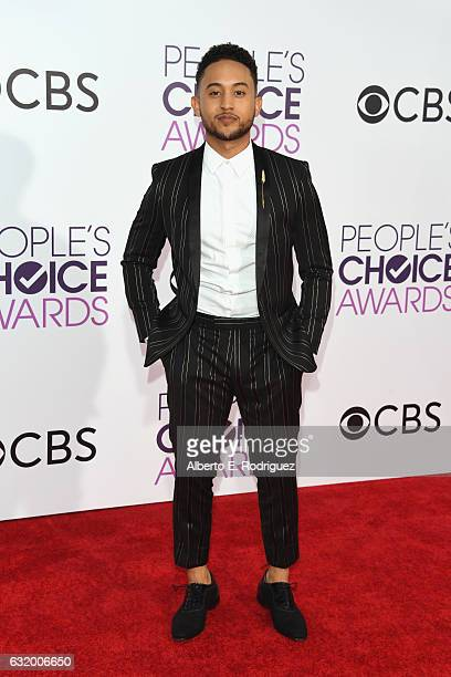 Actor Tahj Mowry attends the People's Choice Awards 2017 at Microsoft Theater on January 18 2017 in Los Angeles California