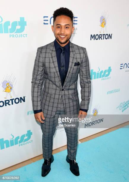 Actor Tahj Mowry attends the Thirst Project's 8th Annual thirst Gala at Beverly Hills Hotel on April 18 2017 in Beverly Hills California