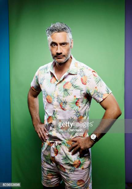 Actor Taika Waititi from the film Thor Ragnarok is photographed in the LA Times photo studio at ComicCon 2017 in San Diego CA on July 22 2017 CREDIT...