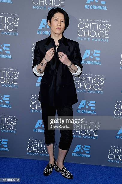 Actor Takamasa Ishihara attends the 20th annual Critics' Choice Movie Awards at the Hollywood Palladium on January 15 2015 in Los Angeles California