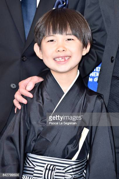 Actor Takara Kogawa attends the 'The Night I Swam ' photocall during the 74th Venice Film Festival at Sala Casino on September 5 2017 in Venice Italy