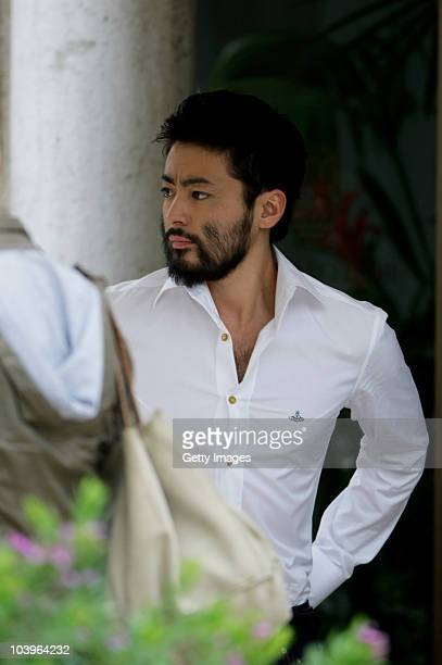 Actor Takayuki Yamada attends the 67th Venice Film Festival on September 10 2010 in Venice Italy