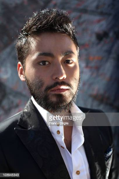 Actor Takayuki Yamada poses at the '13 Assassins' portrait session during the 67th Venice Film Festival on September 9 2010 in Venice Italy