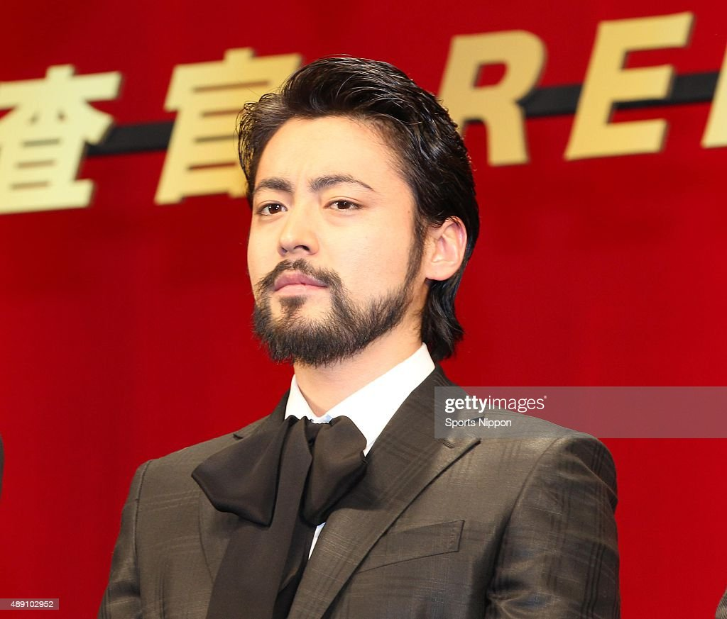 Actor Takayuki Yamada Attends Press Conference In Tokyo : News Photo