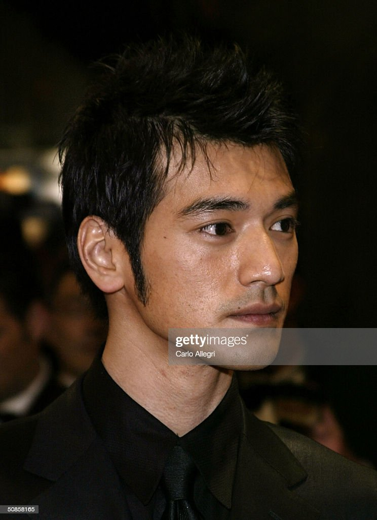 Actor Takeshi Kaneshiro attends the premiere of 'House of Flying Daggers' atthe Palais de Festival during the 57th Annual International Cannes Film Festival May 19, 2004 in Cannes, France.