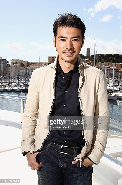 Actor Takeshi Kaneshiro poses at the 'Wu Xia' portrait session during the 64th Annual Cannes Film Festival on May 15 2011 in Cannes France