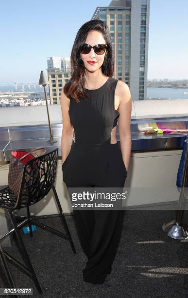 Actor Tala Ashe at BuzzFeed The CW Present SRSLY The Best Damn Superhero Party on July 21 2017 in San Diego California