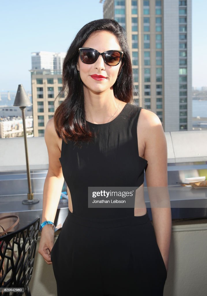 Actor Tala Ashe at BuzzFeed & The CW Present SRSLY The Best Damn Superhero Party! on July 21, 2017 in San Diego, California.