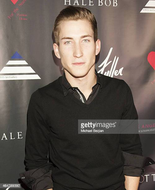Actor Talon Reid attends Caroline Burt DJs At Victoria Fuller's The Beauty Code Art Show at The Redbury Hotel on February 25 2015 in Hollywood...