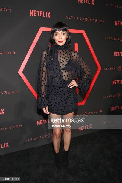 Actor Tamara Taylor attends the World Premiere of the Netflix Original Series 'Altered Carbon' on February 1 2018 in Los Angeles California
