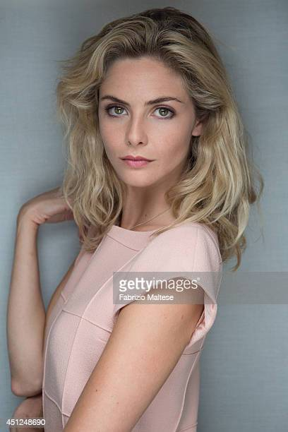 Actor Tamsin Egerton is photographed in Cannes France