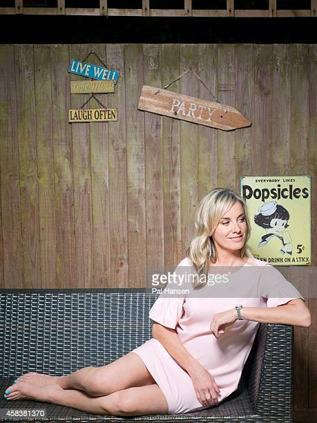 Actor Tamzin Outhwaite is photographed for the Times on July 17, 2014 in London, England.