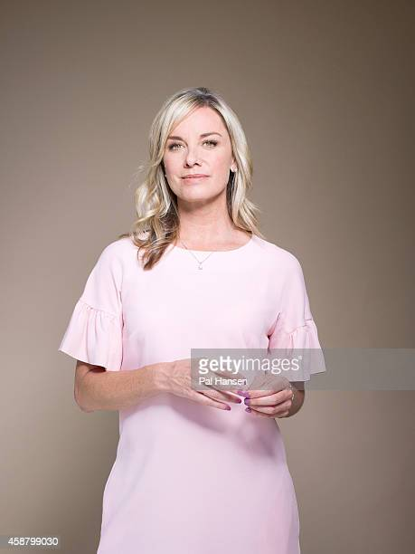 Actor Tamzin Outhwaite is photographed for the Times on July 17, 2014 in London, England. England.