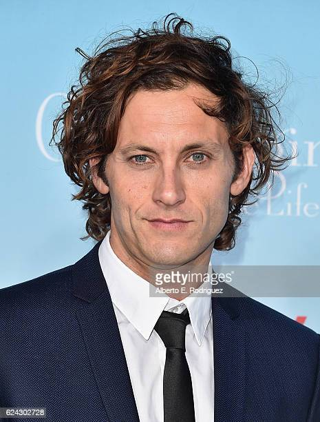 Actor Tanc Sade attends the premiere of Netflix's Gilmore Girls A Year In The Life at the Regency Bruin Theatre on November 18 2016 in Los Angeles...