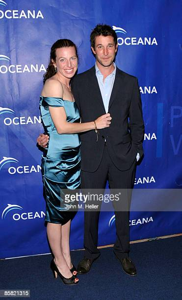 Actor Tanna Frederick and actor Noah Wyle attend the 2009 Project Save Our Surf 1st Annual Surfathon and Oceana Awards at Shutters on the Beach...