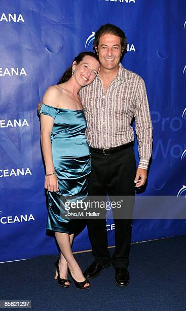 Actor Tanna Frederick and Paul Naude recipient of the Oceana Sea Friend Award for Outstanding Contribution to Ocean Protection and Preservation...