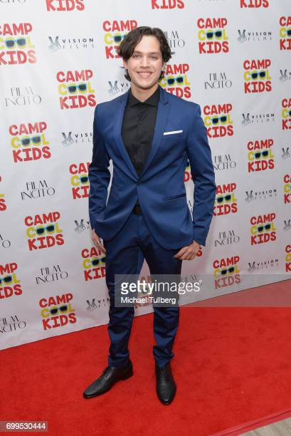 Actor Tanner Fontana attends the premiere of Vision Films' Camp Cool Kids at AMC Universal City Walk on June 21 2017 in Universal City California
