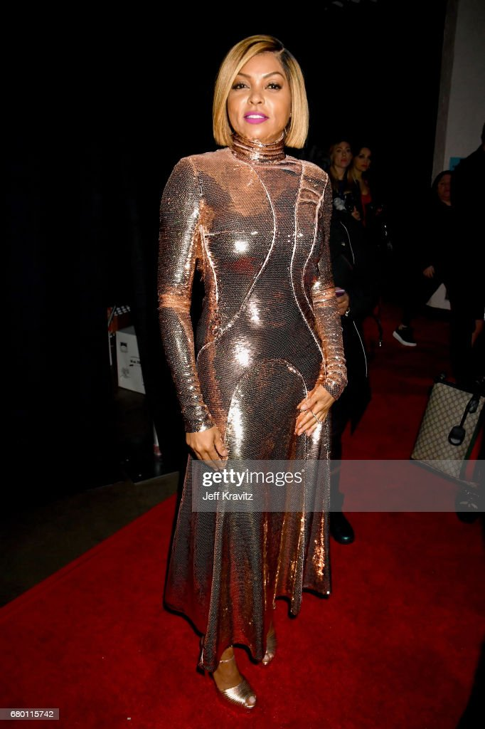 Actor Taraji P. Henson attends the 2017 MTV Movie And TV Awards at The Shrine Auditorium on May 7, 2017 in Los Angeles, California.