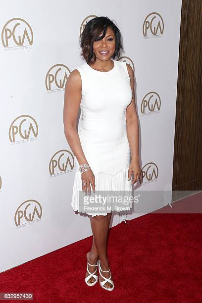 Actor Taraji P Henson attends the 28th Annual Producers Guild Awards at The Beverly Hilton Hotel on January 28 2017 in Beverly Hills California