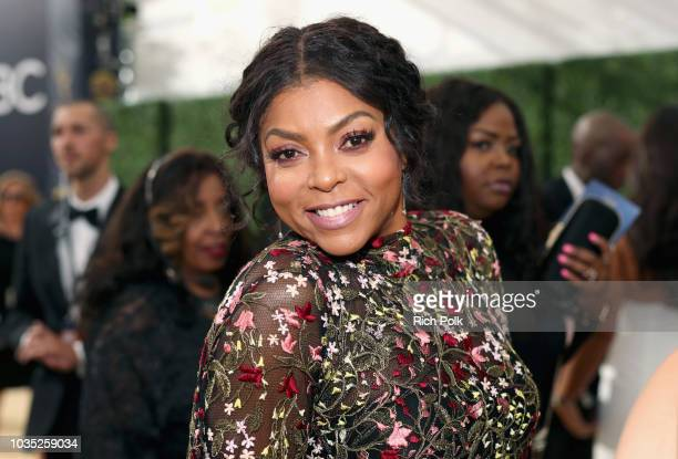 Actor Taraji P Henson attends the 70th Annual Primetime Emmy Awards at Microsoft Theater on September 17 2018 in Los Angeles California