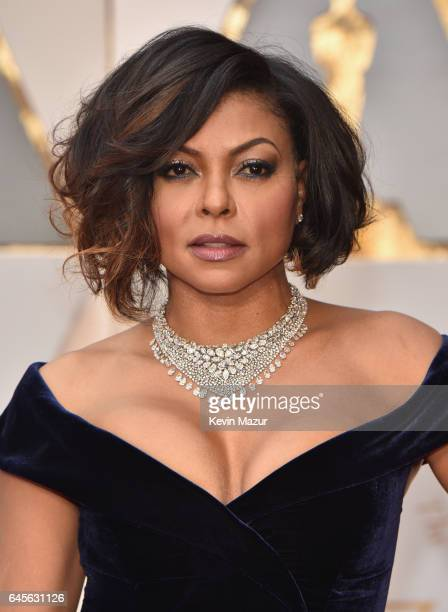 Actor Taraji P Henson attends the 89th Annual Academy Awards at Hollywood Highland Center on February 26 2017 in Hollywood California