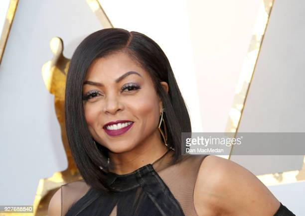 Actor Taraji P Henson attends the 90th Annual Academy Awards at Hollywood Highland Center on March 4 2018 in Hollywood California