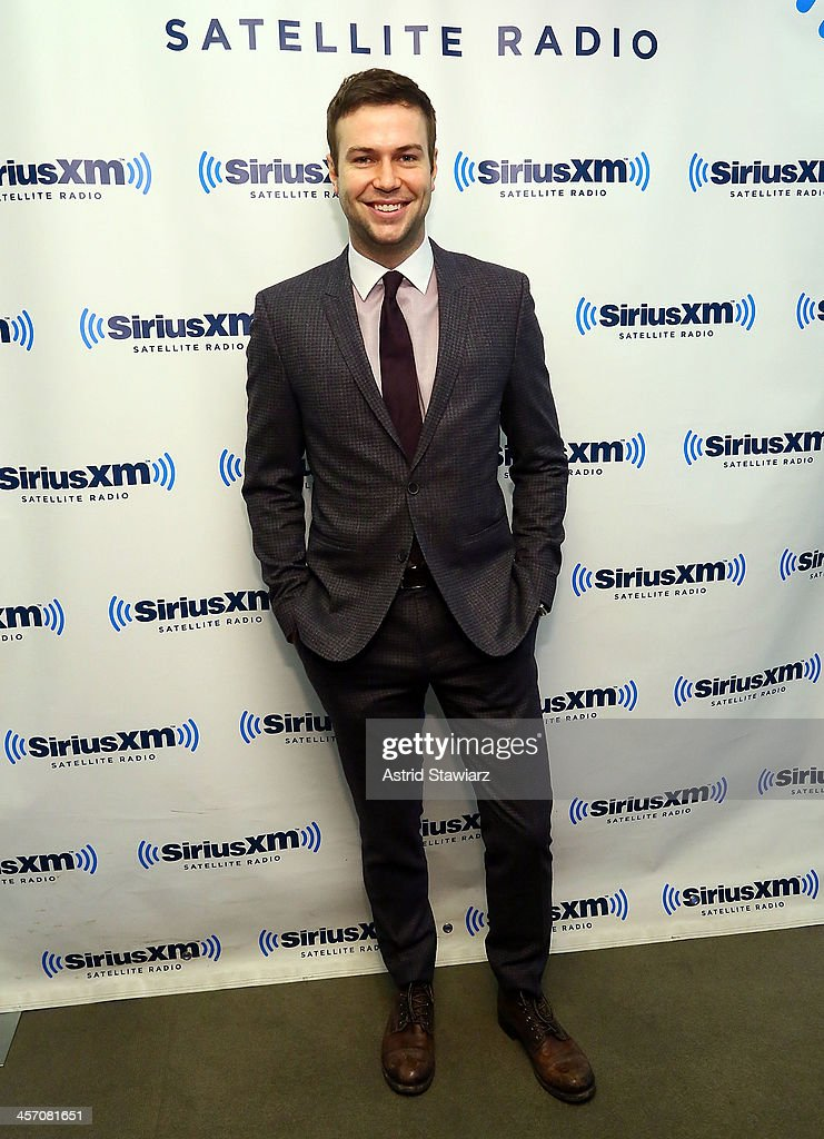 Actor Taran Killam visits the SiriusXM Studios on December 16, 2013 in New York City.