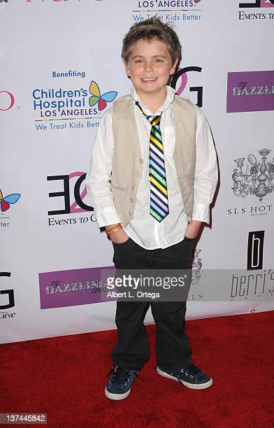 Actor Tarik Ellinger arrives at The Butterfly Gala An Enchanted Evening held at SLS Hotel on January 17 2012 in Beverly Hills California