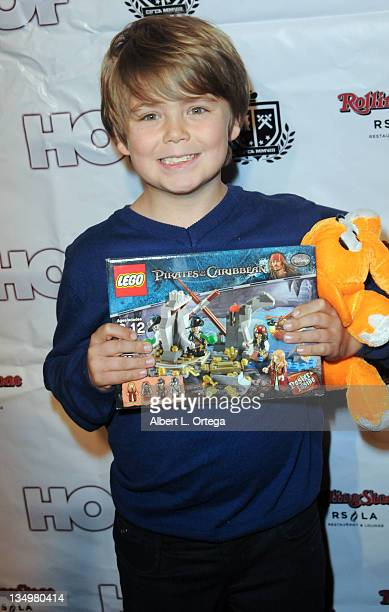 Actor Tarik Ellinger arrives for the Rolling Stone Toy Drive For Children's Hospital held at Rolling Stone Restaurant And Lounge on December 4 2011...