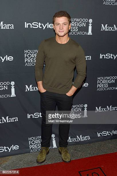Actor Taron Egerton attends the TIFF/InStyle/HFPA Party during the 2016 Toronto International Film Festival at Windsor Arms Hotel on September 10...
