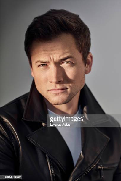 Actor Taron Egerton is photographed for the Telegraph on July 24 2018 in London England