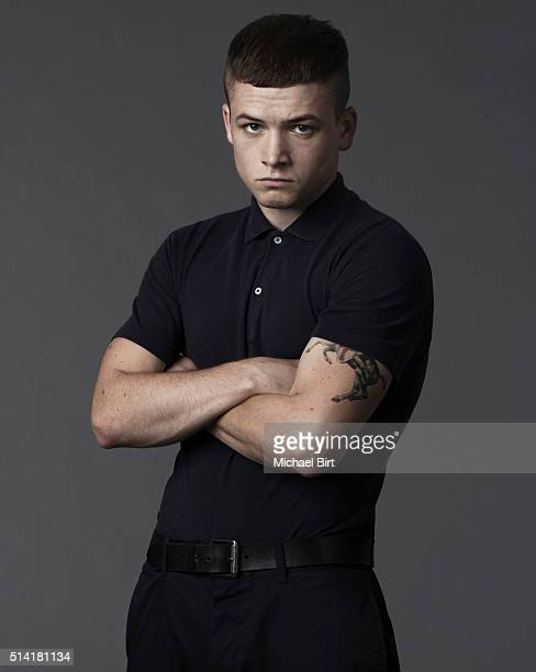 Actor Taron Egerton is photographed on September 4 2013 in London England