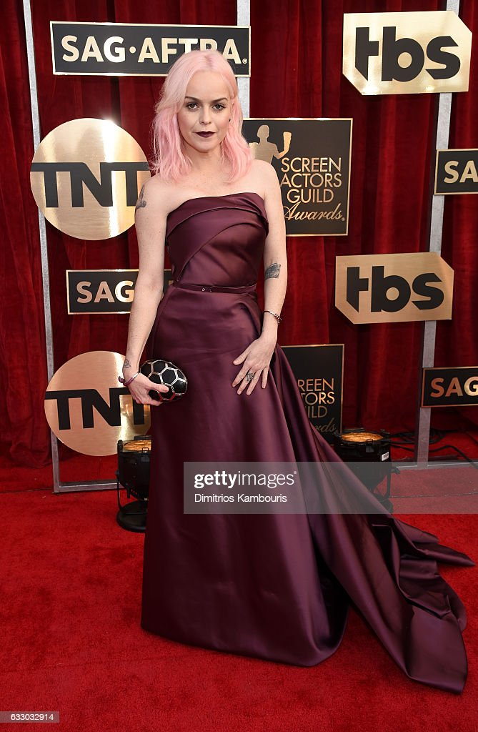 Actor Taryn Manning attends The 23rd Annual Screen Actors Guild Awards at The Shrine Auditorium on January 29, 2017 in Los Angeles, California. 26592_009