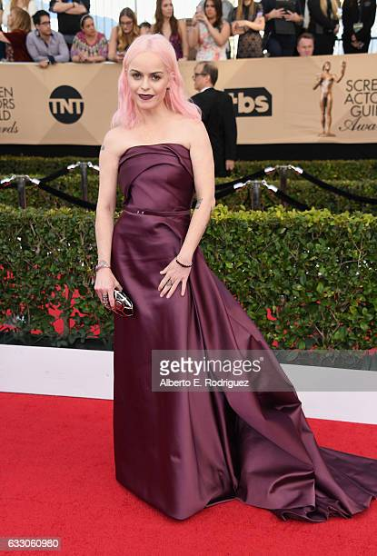 Actor Taryn Manning attends the 23rd Annual Screen Actors Guild Awards at The Shrine Expo Hall on January 29, 2017 in Los Angeles, California.