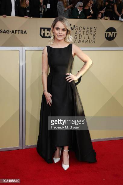 Actor Taryn Manning attends the 24th Annual Screen Actors Guild Awards at The Shrine Auditorium on January 21 2018 in Los Angeles California 27522_017
