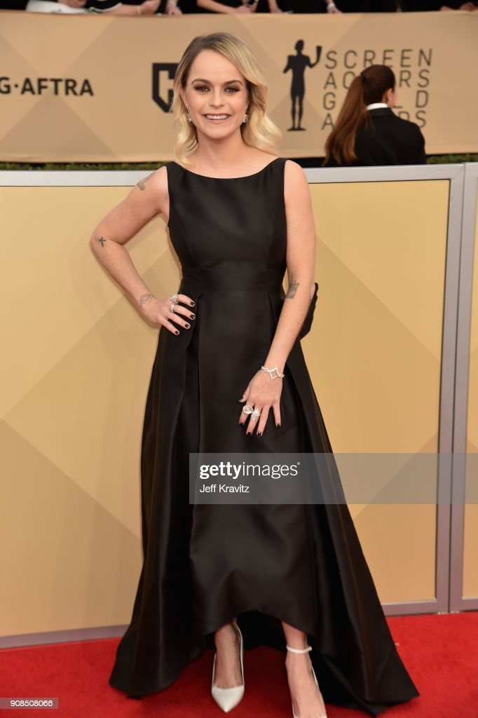 Actor Taryn Manning attends the 24th Annual Screen Actors Guild Awards at The Shrine Auditorium on January 21, 2018 in Los Angeles, California.