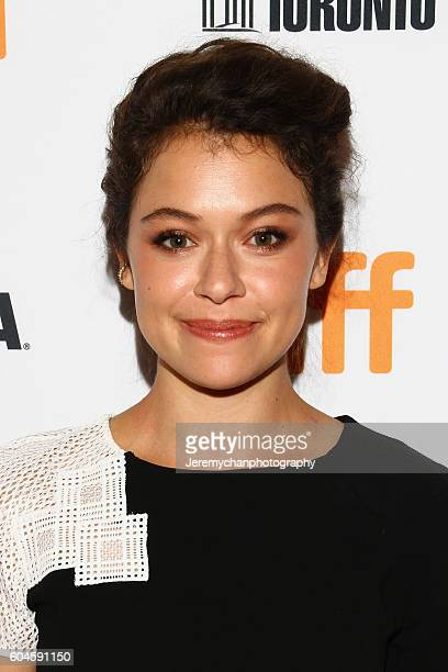 Actor Tatiana Maslany attends the 'Two Lovers And A Bear' Premiere held at The Elgin Theatre during the Toronto International Film Festival on...
