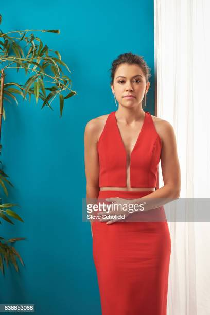 Actor Tatiana Maslany is photographed for Emmy magazine on September 18 2016 in Los Angeles California