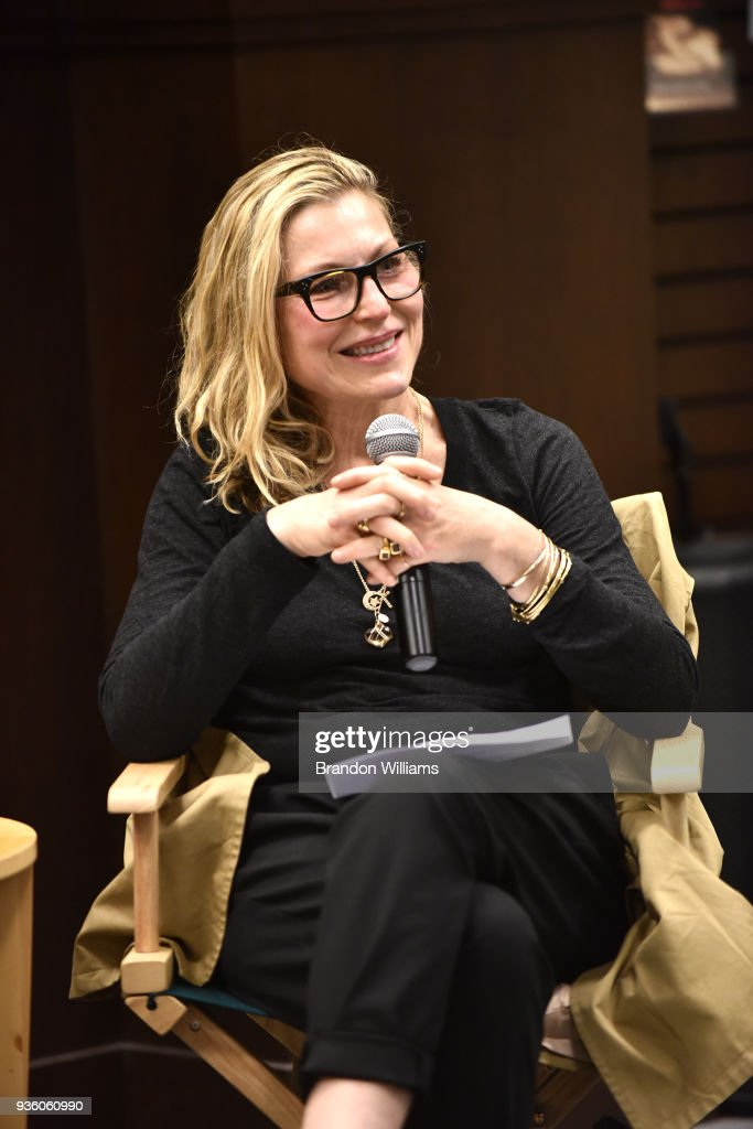 Actor Tatum O'Neal speaks during the celebration for Tina Alexis Allen's new memoir, 'Hiding Out' at Barnes & Noble at The Grove on March 21, 2018 in Los Angeles, California.