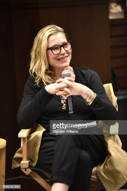Actor Tatum O'Neal speaks during the celebration for Tina Alexis Allen's new memoir Hiding Out at Barnes Noble at The Grove on March 21 2018 in Los...