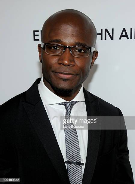 Actor Taye Diggs arrives at the 19th Annual Elton John AIDS Foundation Academy Awards Viewing Party at the Pacific Design Center on February 27 2011...