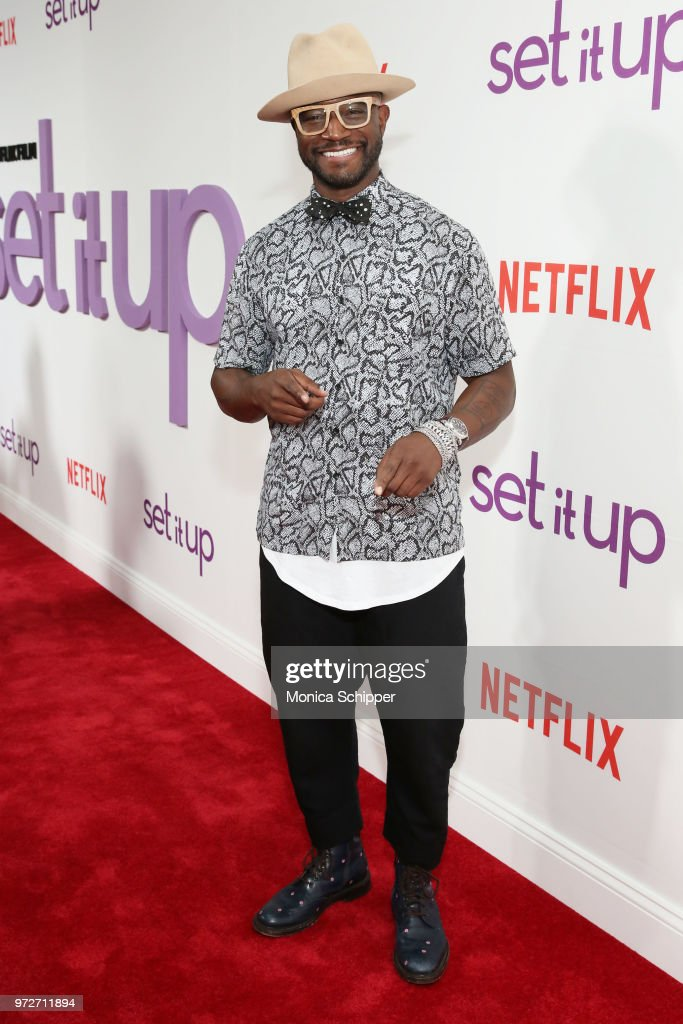 Actor Taye Diggs attends a special screening of the Netflix film 'Set It Up' at AMC Lincoln Square Theater on June 12, 2018 in New York City.